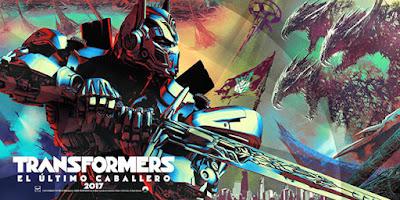 Banner de Transformers el último caballero