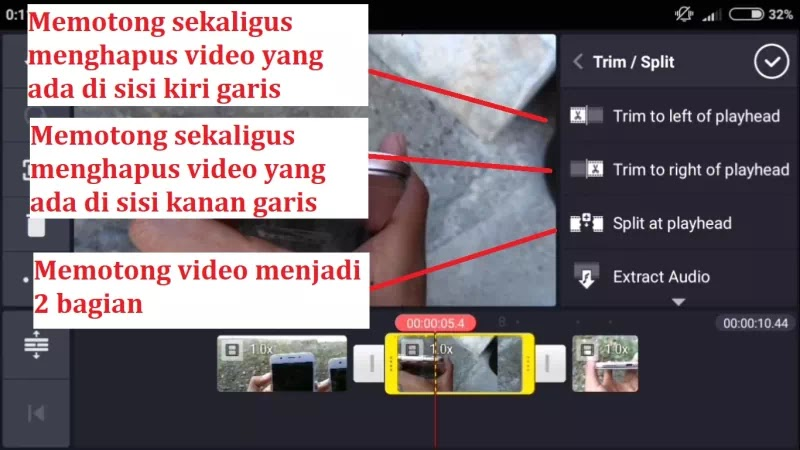 #3 Cara Potong / Cut / Crop Video Di Dalam Project