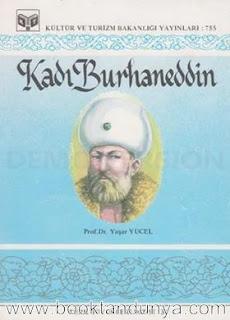 Yaşar Yücel - Kadı Burhaneddin (Türk büyükleri dizisi:36)