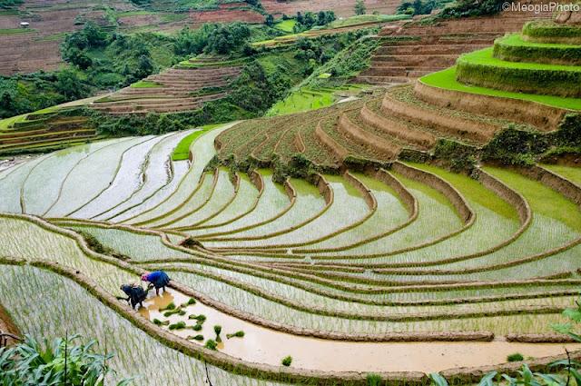 Ha Giang in the water fall season 2