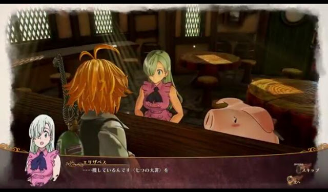 Second Screenshot from Seven Deadly Sins: Knights of Bratannia Trailer
