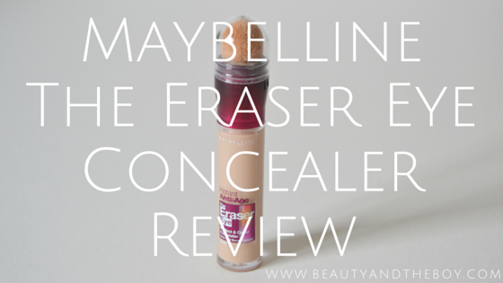 Maybelline The Eraser Eye Concealer Review