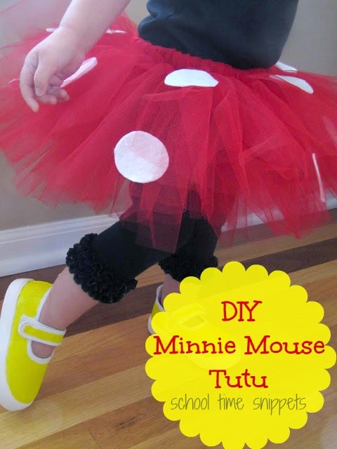 DIY Minnie Mouse Tutu