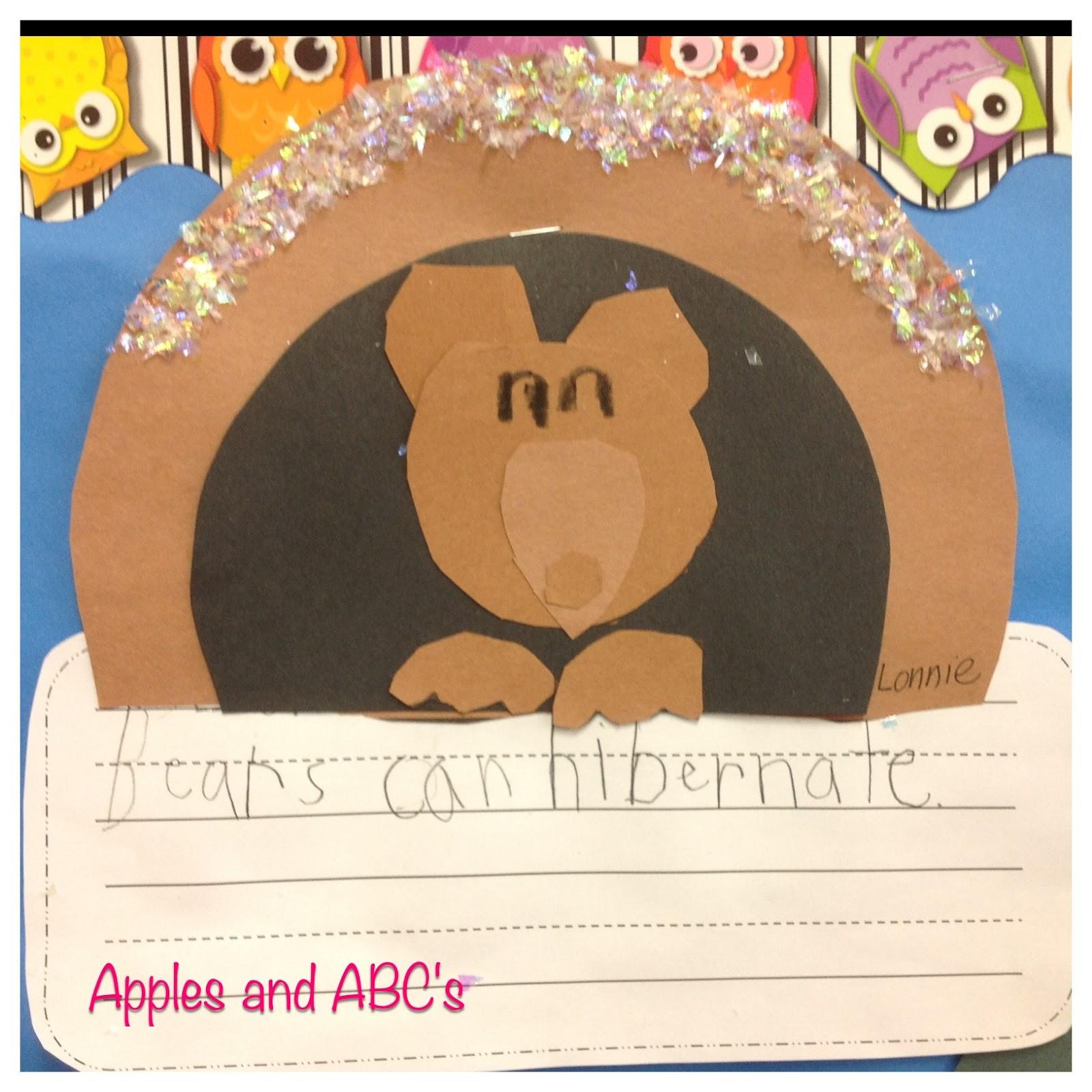 Bear Snores On Preschool Crafts