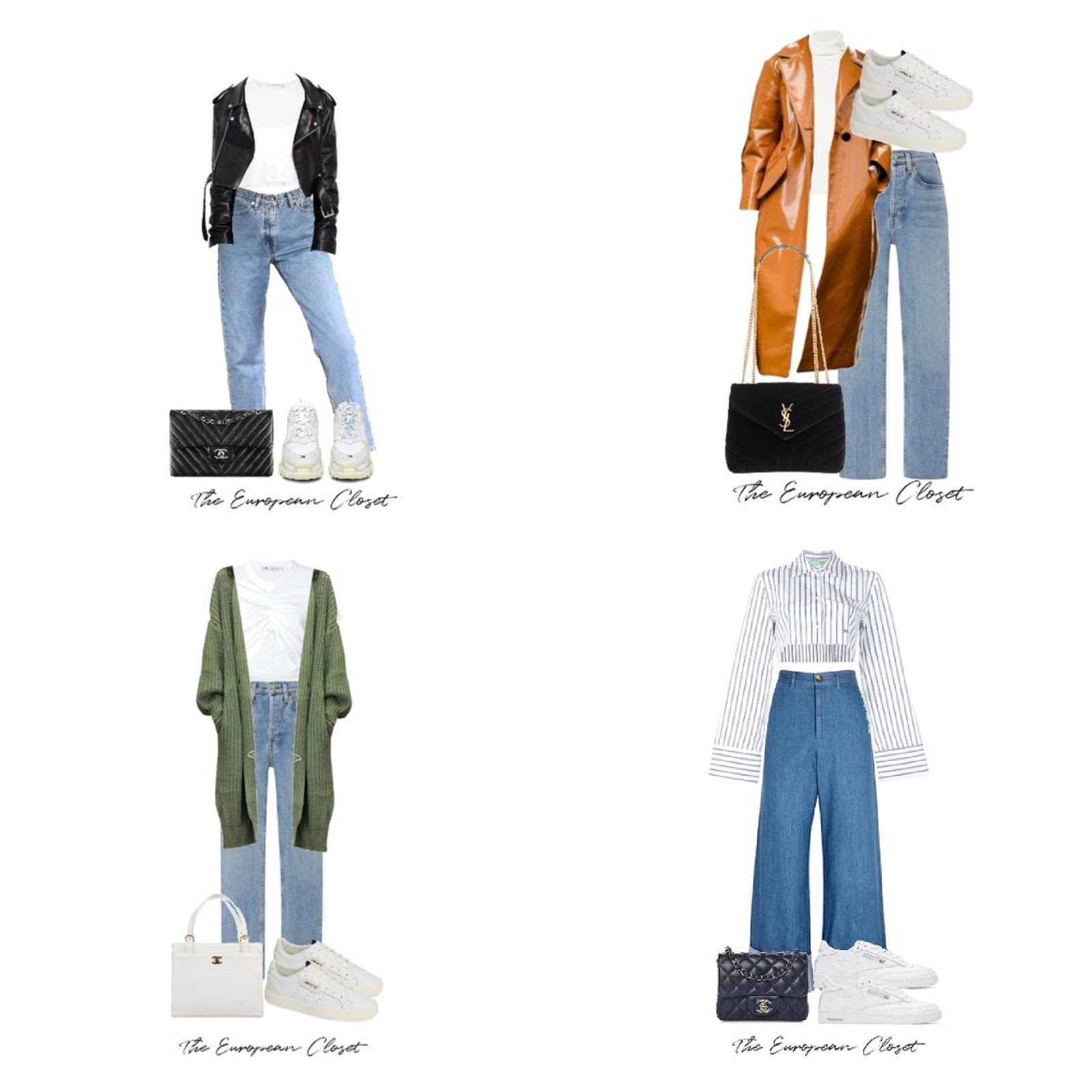 I've put together 16 outfits with sneakers you can recreate so you can look put together while wearing your favorite pair of sneakers.