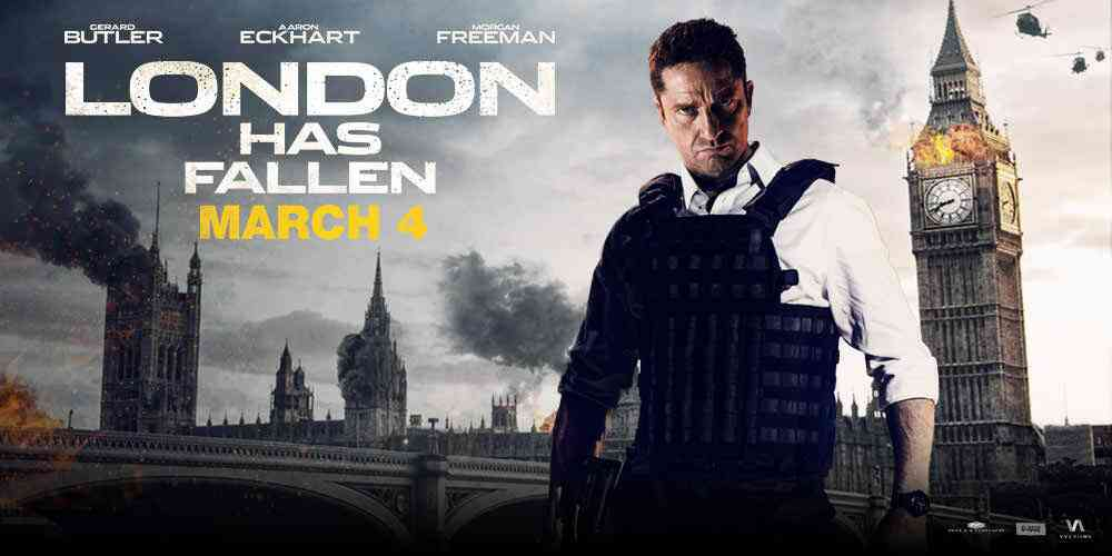London Has Fallen 2016 English Movie Download Free HD DVDrip