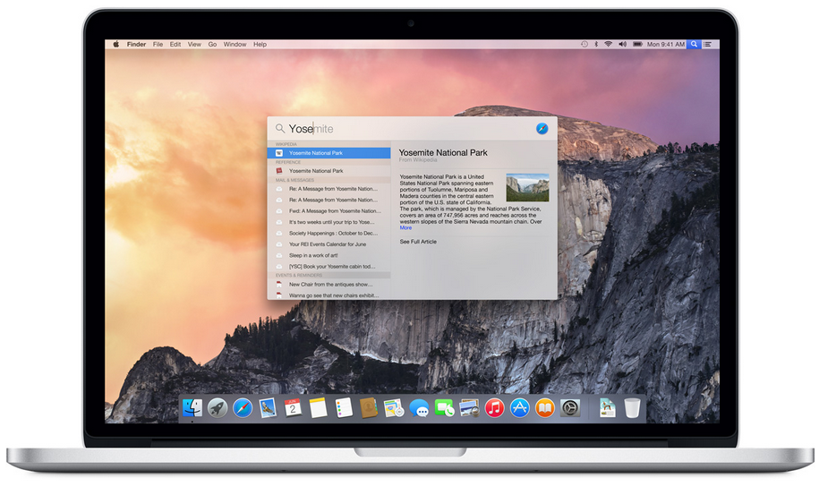 Apple OS X New Version Named Yosemite Announced in WWDC 2014