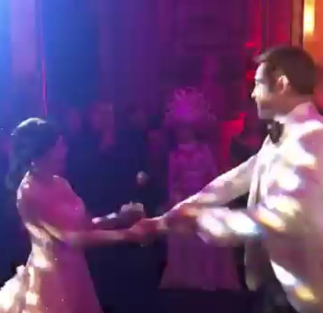 Check out Vicki Belo and Hayden Kho Dancing on Their Wedding Night! It Was so Extreme!