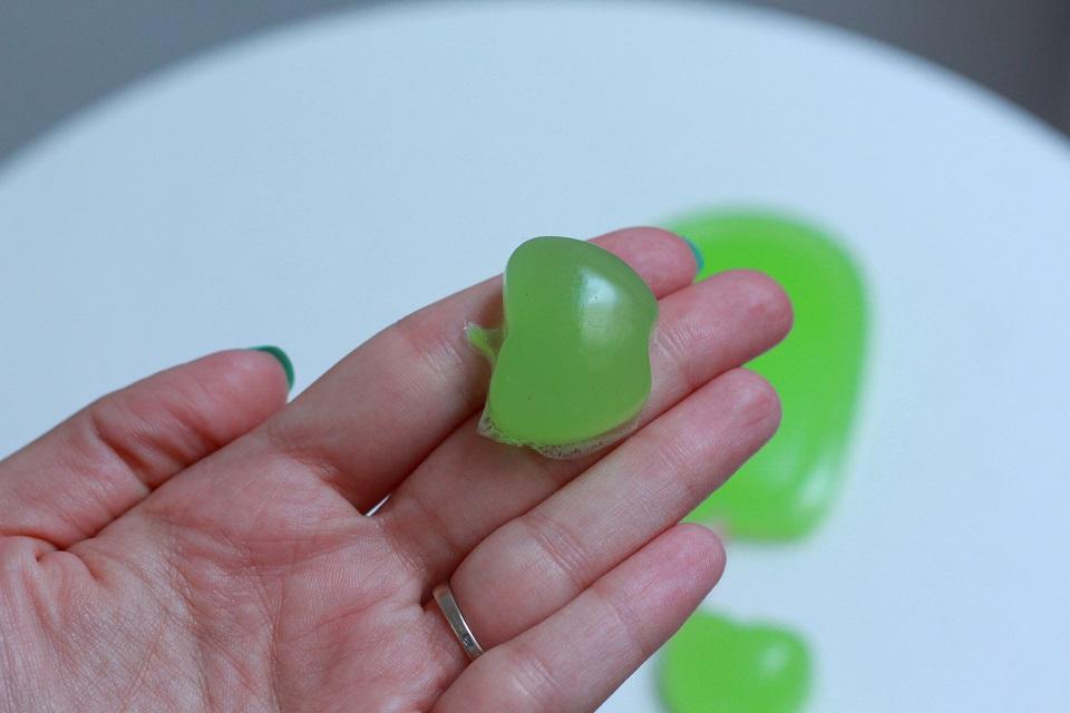 Zielone jabłuszko - mydełko żelowe