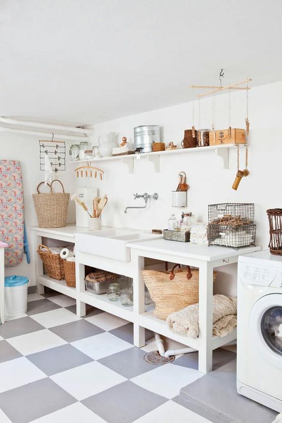 Un nuovo look per la lavanderia blog di arredamento e for Piani di casa sotto 100k da costruire