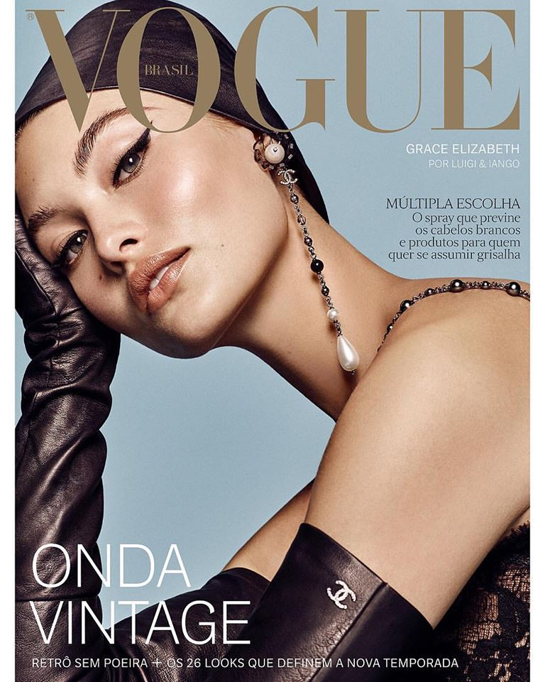 Grace Elizabeth for Vogue Brazil August 2018