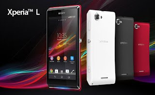 Harga Sony Xperia L, Smartphone Elegan Spesifikasi Mempuni
