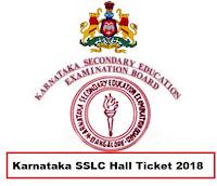 Karnataka SSLC Admit Card 2018 Download