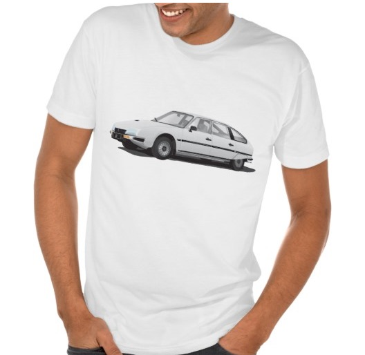 Citroën CX t-shirt