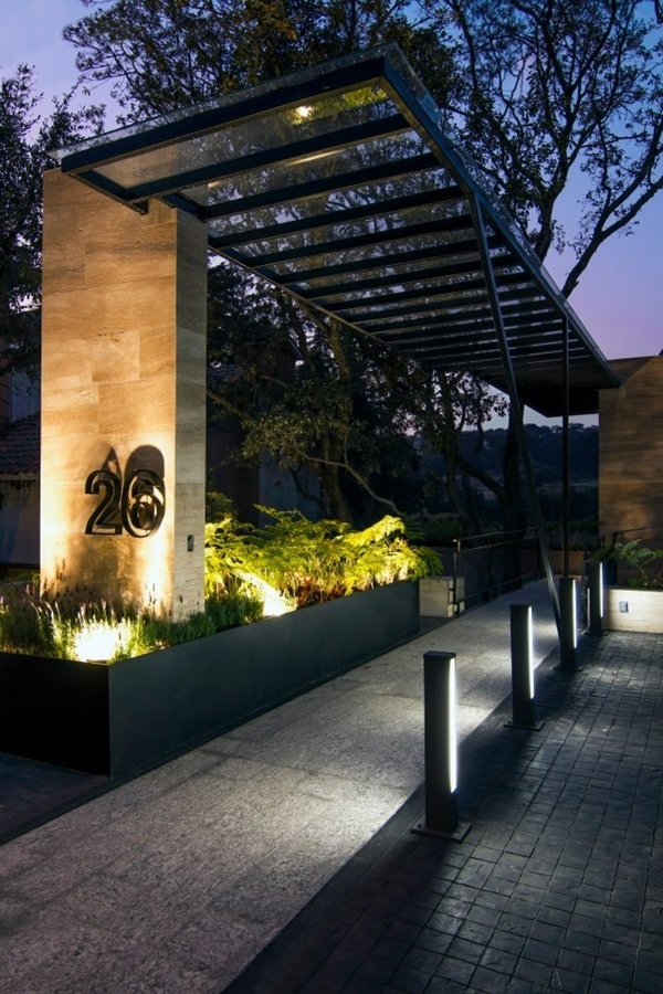 World of Architecture: 30 Modern Entrance Design Ideas for ... on Modern Entrance Design  id=27817