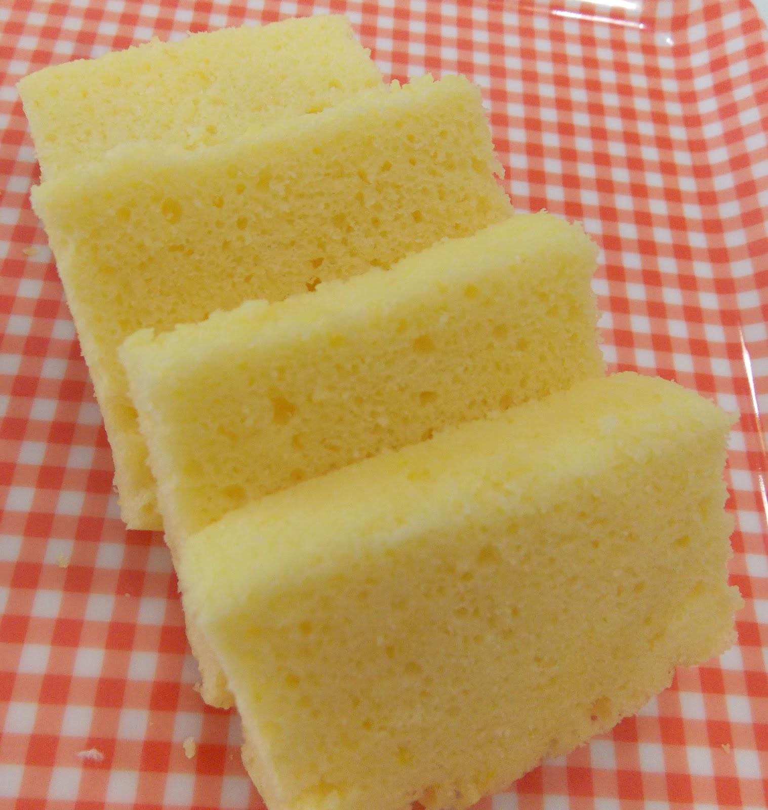 Taiwan Egg Sponge Cake Recipe