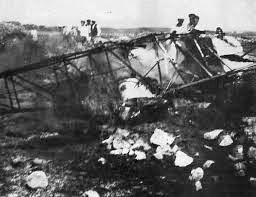 Avioneta en la que Mola iba a su encuentro con Franco