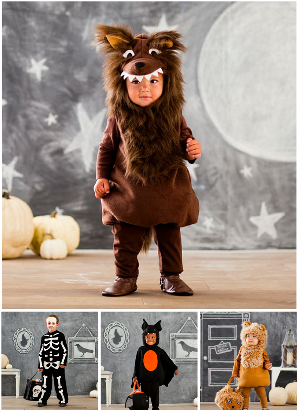 Adorable Halloween Kids and Baby Costumes - via BirdsParty.com