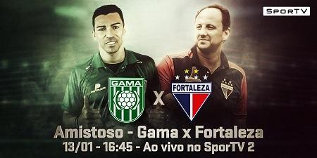 Assistir  Gama x Fortaleza  ao vivo 13/01/2018
