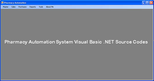 Source Code Farmasi Sistem Otomasi Versi 1.0 Berbasis Desktop Visual Basic NET