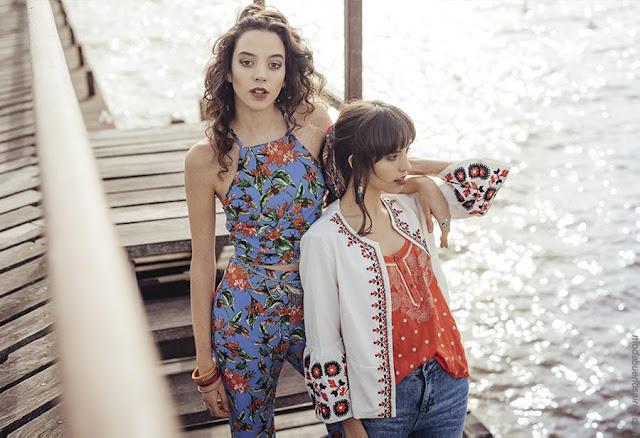 Moda primavera verano 2019. Ropa de mujer blusas, tops primavera verano 2019.