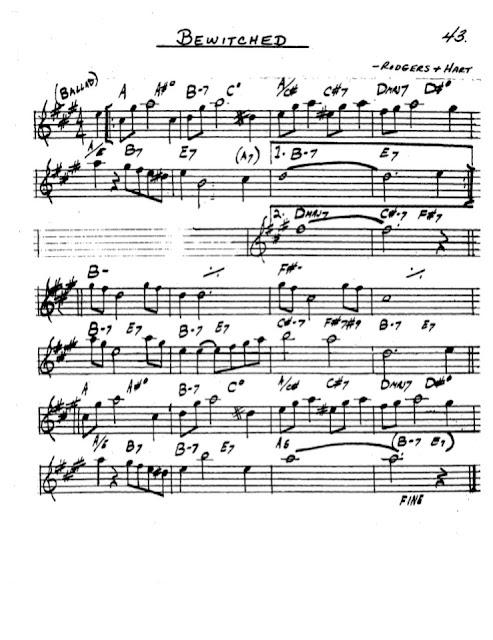 Partitura Saxofón Rodgers Hart