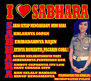 Gambar DP BBM Kata Kata Romantis Polisi