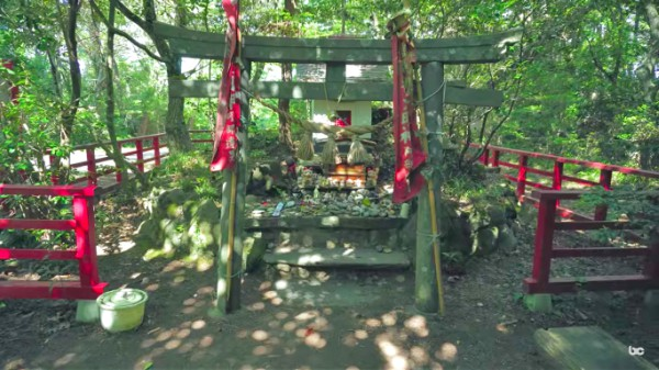 cat island shrine