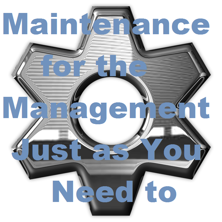 Maintenance for the Management