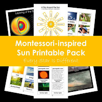 Montessori-inspired Sun Printable Pack