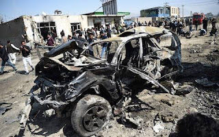 Heavy blast hit high-security compound in Kabul kills 4