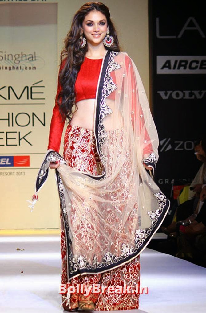 , Aditi Rao Hydari Ramp Walk, Fashion show Photos
