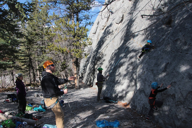 Family Adventures In Canadian Rockies Gym Crag Transition Outdoor Rock Climbing