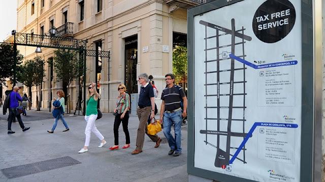 Reembolso do IVA em Barcelona