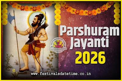 2026 Parshuram Jayanti Date and Time, 2026 Parshuram Jayanti Calendar
