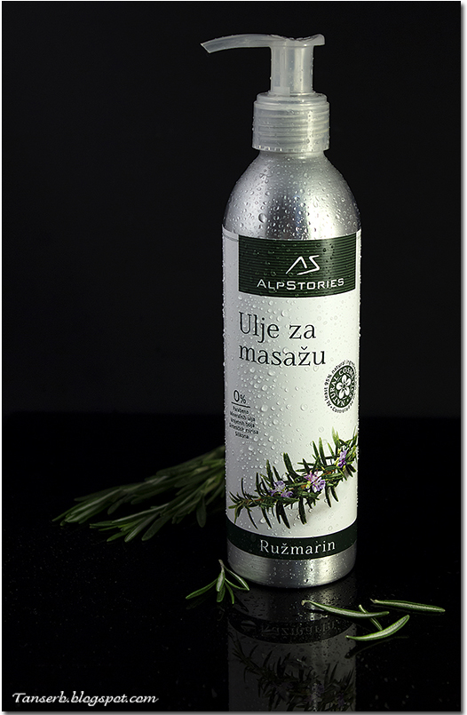 AlpStories Массажное масло Massage oil Rosemary