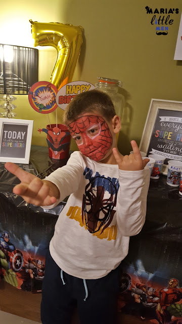 spiderman-face-painting
