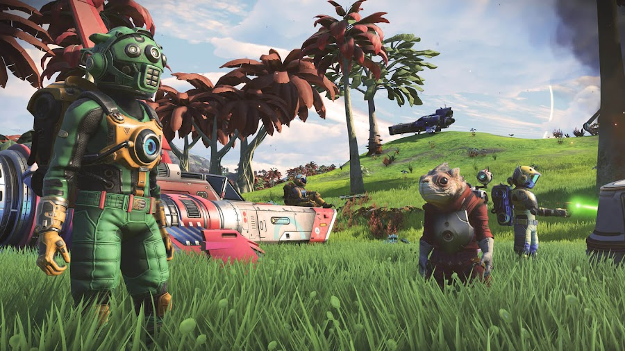 no mans sky next update graphics