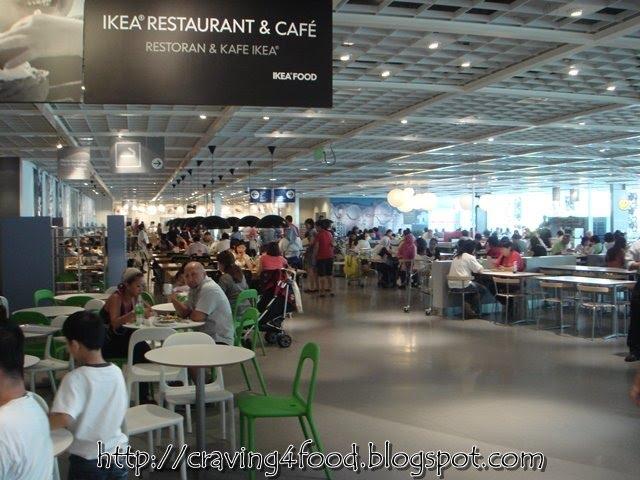 FIRST TIME MERASA MAKANAN DI IKEA RESTAURANT&CAFE DAMANSARA