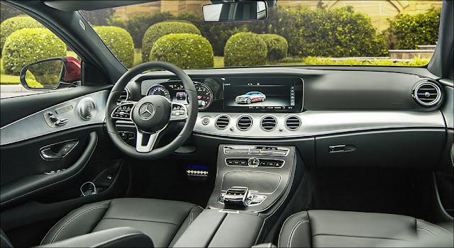 Nội thất Mercedes E200 Sport 2019 được thiết kế thể thao nhưng không kém phần sang trọng và đẳng cấp