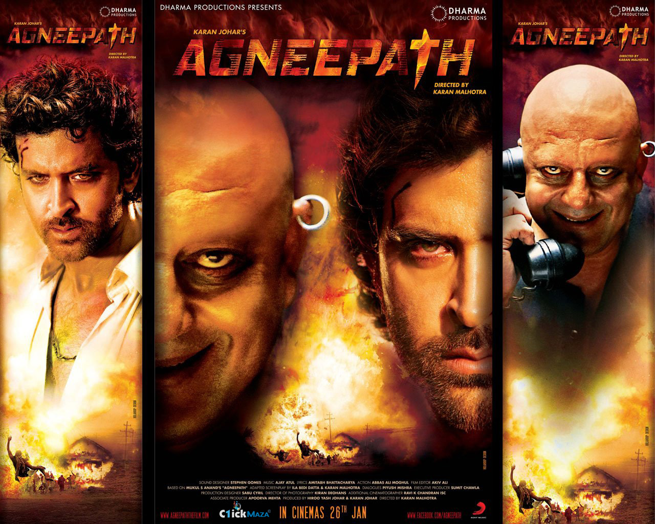Agneepath (2012) mp3 songs | mp3 songs free download and listen online.