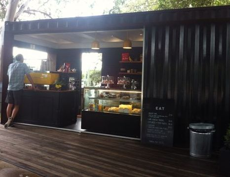 Cafe Container Bandung