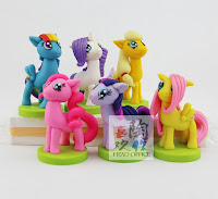 MLP Fake Clay Figures