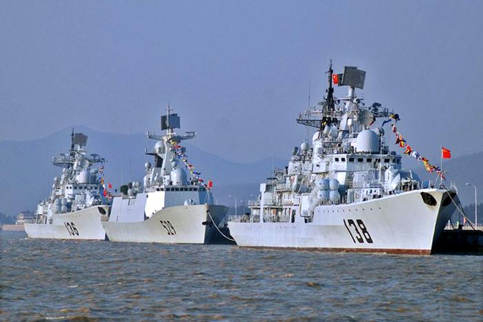 Latihan Militer Tiongkok di Sekitar Laut Cina Selatan