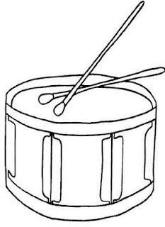Laminas Para Colorear Coloring Pages Instrumentos