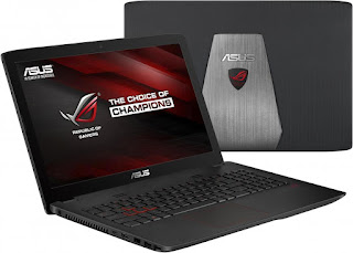 лаптопи за игри Asus