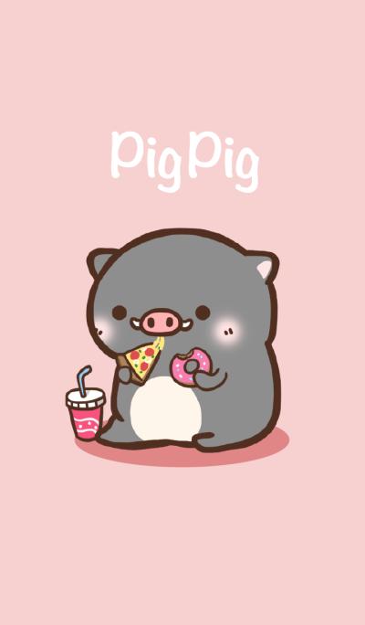 Pig pig Lovely.