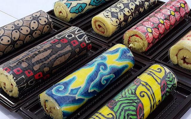 Bikin Yuk Bun Bolu Gulung Batik Empuk Dan Lezat Ini Resepnya