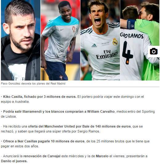72ab2da174 Casilla para substituir Casillas  William no Real se sair Illarramendi   Lateral que foi apontado ao Benfica abandona o futebol  Liverpool desfaz-se  de ...