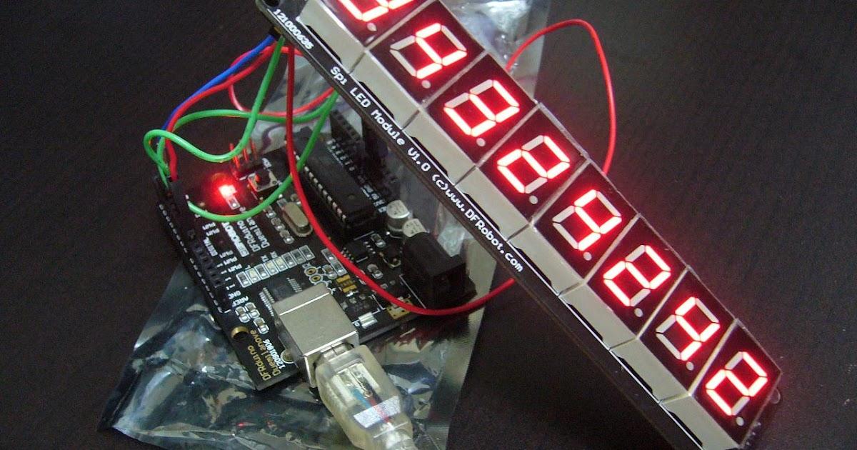 Dennis Lab: Arduino + SPI LED (8 digital bits serial LED)